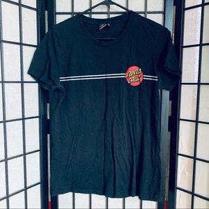 Santa Cruz skateboard logo y shirt sz XL